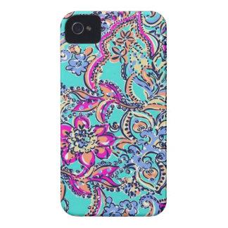 Caso floral y de la diversión del iPhone 4 Case-Mate iPhone 4 Coberturas