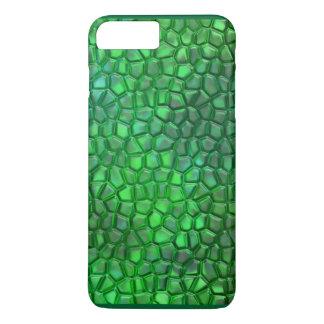 Caso fluorescente del reptil para el iPhone 7 más Funda iPhone 7 Plus