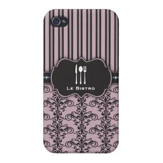 Caso francés del cocinero del restaurante del dama iPhone 4 cobertura