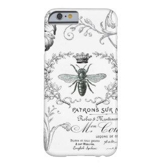 Caso francés del iPhone 6 de la abeja reina del Funda De iPhone 6 Barely There