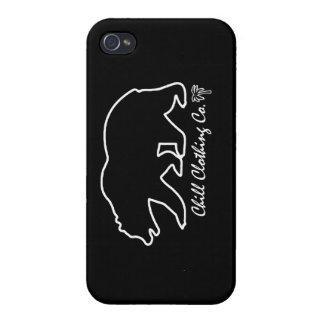 Caso fresco del iphone del oso del cali iPhone 4 funda
