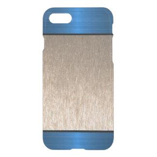 Caso fresco del modelo metálico azul 3D Funda Para iPhone 7