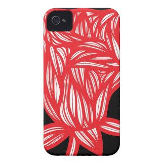 Caso fresco lindo único floral del iPhone 4 iPhone 4 Funda
