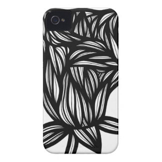 Caso fresco lindo único floral del iPhone 4 Case-Mate iPhone 4 Protectores