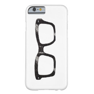 "caso ""friki fresco "" del iPhone 5 Funda Barely There iPhone 6"