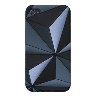 Caso geométrico del iPhone 4 iPhone 4 Carcasa
