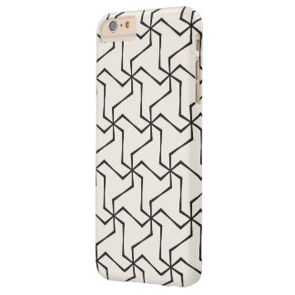 Caso geométrico del iphone 6/6s funda barely there iPhone 6 plus