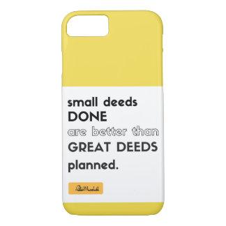 Caso hecho pequeños hechos del iPhone Funda iPhone 7