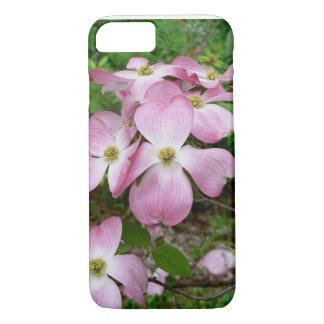 Caso imponente del iPhone 7 de la flor del Dogwood Funda iPhone 7