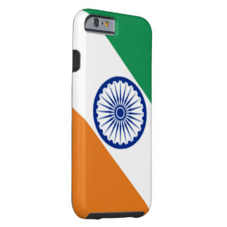 Caso indio del iPhone de la bandera Funda Resistente iPhone 6
