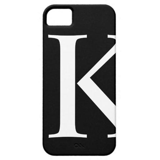 Caso inicial de Barely There del iPhone 5 de K iPhone 5 Case-Mate Coberturas