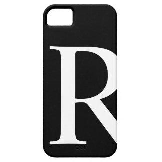 Caso inicial de Barely There del iPhone 5 de R iPhone 5 Case-Mate Protectores