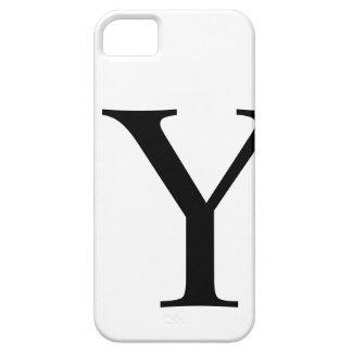 Caso inicial de Barely There del iPhone 5 de Y iPhone 5 Cárcasas