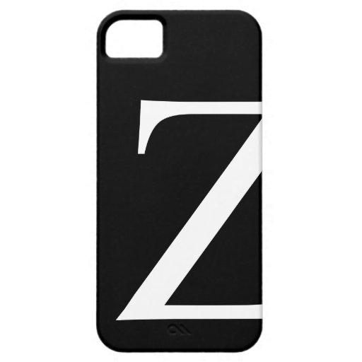 Caso inicial de Barely There del iPhone 5 de Z iPhone 5 Fundas