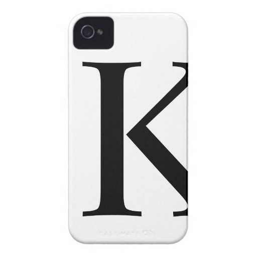 Caso inicial del iPhone 4/4S Barely There de K Case-Mate iPhone 4 Funda