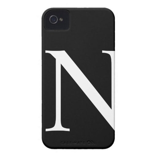 Caso inicial del iPhone 4/4S Barely There de N Case-Mate iPhone 4 Cárcasas