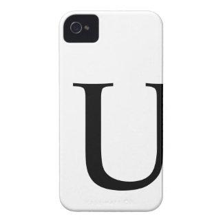 Caso inicial del iPhone 4/4S Barely There de U Case-Mate iPhone 4 Cárcasas