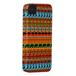 Caso intrépido nativo de Patttern Blackberry del Case-Mate iPhone 4 Coberturas