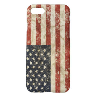 caso iPhone7 con la bandera de los E.E.U.U. Funda Para iPhone 7