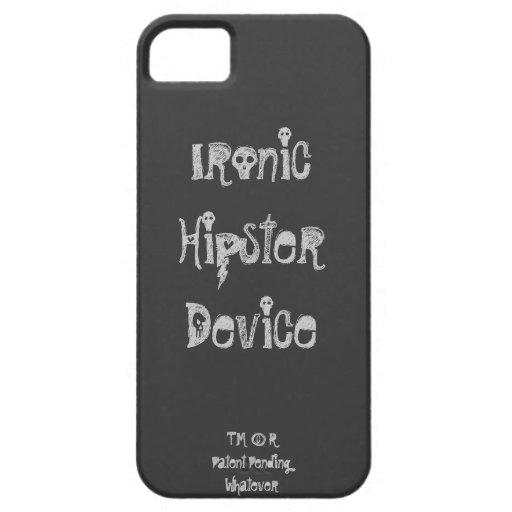 Caso irónico del iPhone 5 del dispositivo del inco iPhone 5 Cobertura