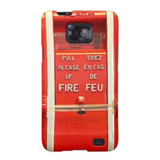 Caso la alarma de incendio samsung galaxy s2 carcasas