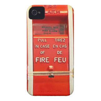 Caso la alarma de incendio iPhone 4 carcasa