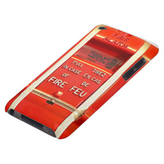 Caso la alarma de incendio iPod touch protectores
