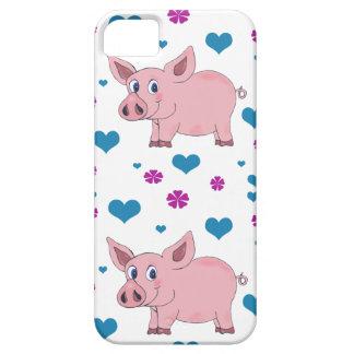 Caso lindo de IPhone del cerdo Funda Para iPhone SE/5/5s