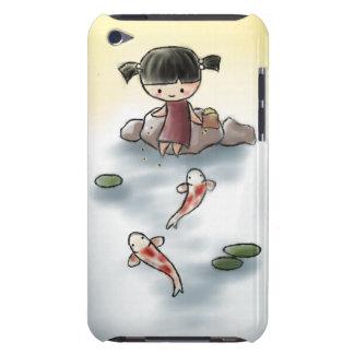Caso lindo de Koi iTouch iPod Touch Cárcasas