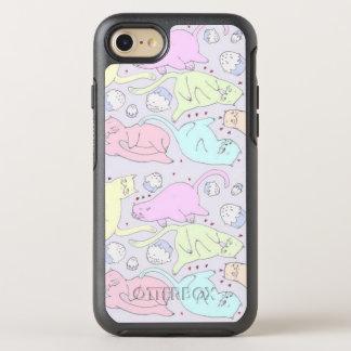 Caso lindo de OtterBox del iPhone 7 de las Funda OtterBox Symmetry Para iPhone 8/7