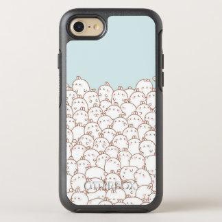 Caso lindo de OtterBox del iPhone 7 de los gatitos Funda OtterBox Symmetry Para iPhone 8/7
