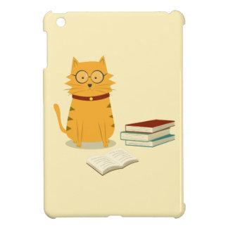Caso lindo del iPad del gato del ratón de