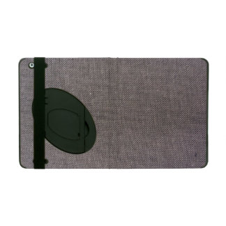 Caso lindo del iPad del modelo de la tela del vint iPad Protectores