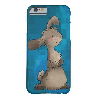 Caso lindo del iPhone 6 del conejo Funda Para iPhone 6 Barely There