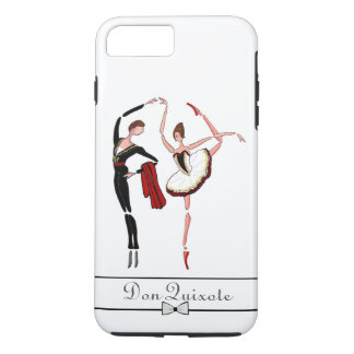 CASO LISO DE LA DANZA IPHONE DEL BALLET, BALLET FUNDA iPhone 7 PLUS