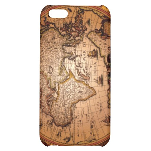 Caso listo del iPhone 5 del mapa de Viejo Mundo de