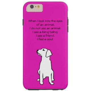 Caso más del iPhone 6 animales del amante Funda De iPhone 6 Plus Tough