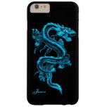 Caso más del iPhone 6 de encargo del dragón de la Funda De iPhone 6 Plus Barely There