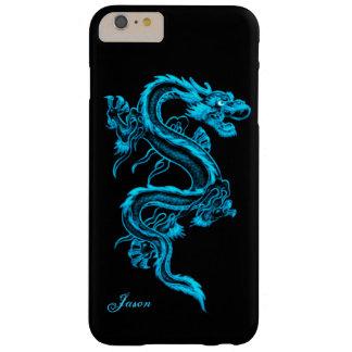 Caso más del iPhone 6 de encargo del dragón de la Funda Barely There iPhone 6 Plus