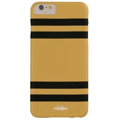 Caso más del iPhone 6 de Stripey Funda De iPhone 6 Plus Barely There
