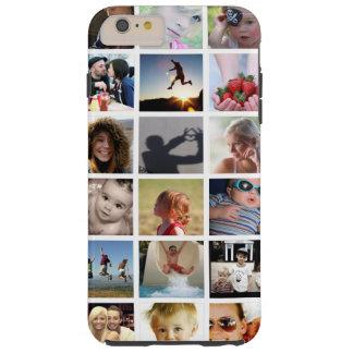 Caso más del iPhone 6 del collage de la foto Funda Resistente iPhone 6 Plus