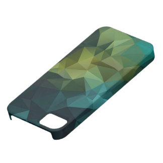 Caso más del iPhone 6 geométricos triangulares de iPhone 5 Fundas