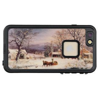 Caso más del iPhone 7 americana del caballo del