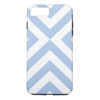 Caso más del iPhone 7 azules claros y blancos de Funda iPhone 7 Plus