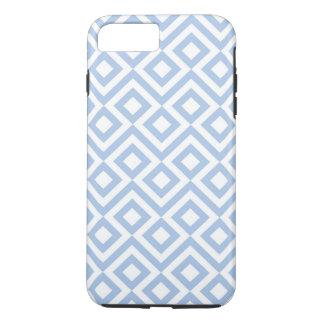 Caso más del iPhone 7 azules claros y blancos del Funda iPhone 7 Plus