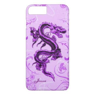 Caso más del iPhone 7 de encargo púrpuras del Funda iPhone 7 Plus