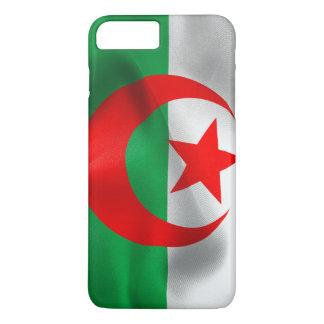 Caso más del iPhone 7 de la bandera de Argelia Funda iPhone 7 Plus
