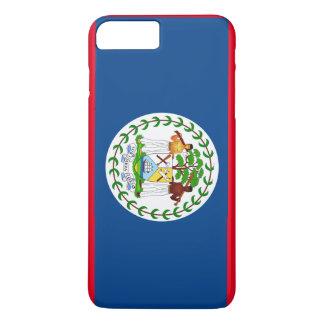 Caso más del iPhone 7 de la bandera de Belice Funda iPhone 7 Plus