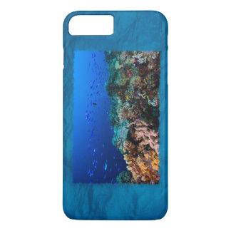 Caso más del iPhone 7 de la gran barrera de coral Funda iPhone 7 Plus
