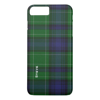 Caso más del iPhone 7 de la tela escocesa de Funda iPhone 7 Plus